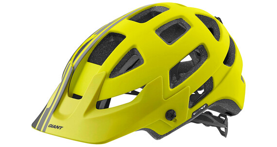 Giant Rail hjelm gul